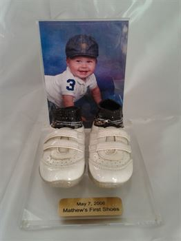 Picture of Style 2000 - Baby shoes with socks and photo frame