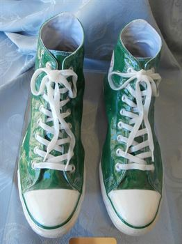 Picture of Style # 5030 - Adult sports shoes mounted on acrylic base